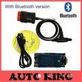 Новые приходят из модели с Bluetooth функции мвд TCS CDP pro новый vci cdp PRO COM Автомобили Грузовики obd scan инструменты 2015 r1 dvd-корабль бесплатно