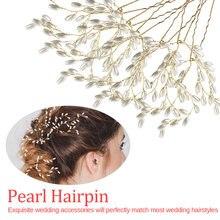 Wedding Hair Accessories Crystal Pearl Belt Elegance Ornaments Jewelry Headdress Headbands