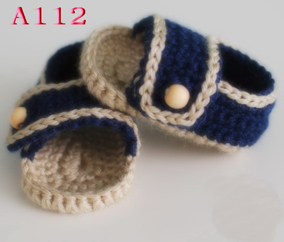 13cac6567c1 Free shipping Crochet Baby sandals