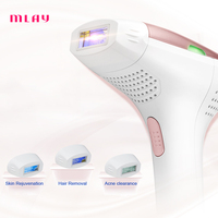 IPL Hair remover Quartz lamp 300000 Flashes Permanent Hair Removal Machine Bikini Trimmer Face Body Underarm Electric depilador