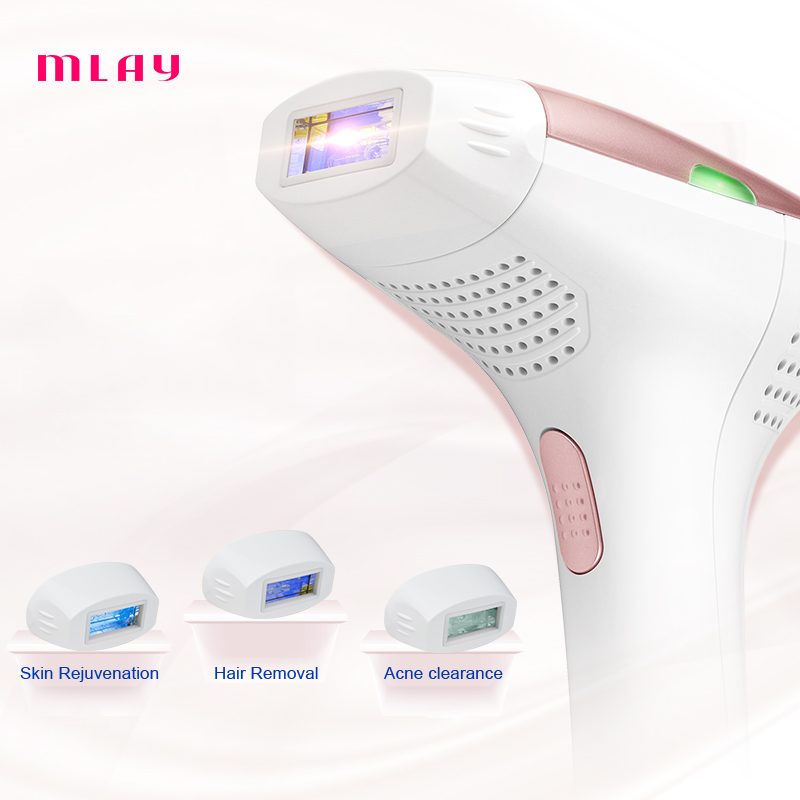 IPL Hair remover Quartz lamp 300000 Flashes Permanent Hair Removal Machine Bikini Trimmer Face Body Underarm Electric depilador ...