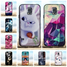 купить For Samsung Galaxy S5 Case Luxury Silicone Soft Cover For Samsung S5 i9600 G900F Case 3D Cute For Samsung S5 Neo SM-G903F Cases по цене 62.04 рублей