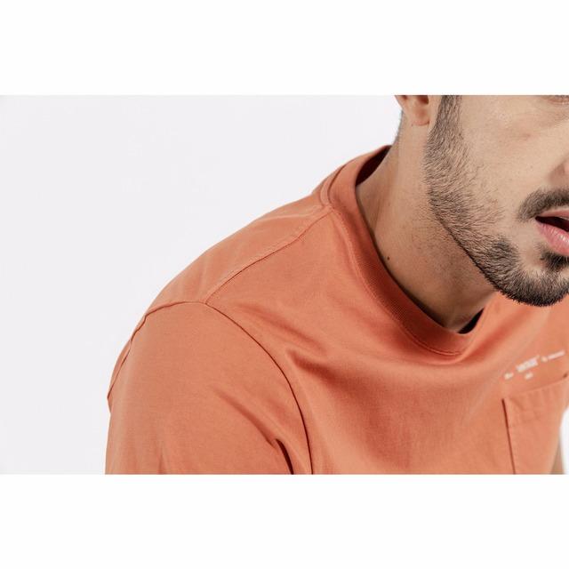 Men's Slim Fit T-Shirts Casual Vintage Men 100% Cotton