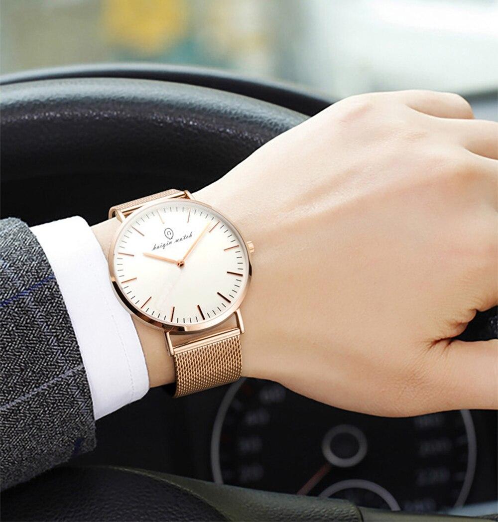Casal Relógios de Luxo Da Marca de