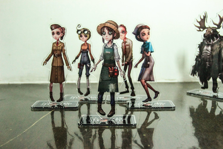 Game Identity V Characters Figurines Acrylic Ornaments Badge Desktop Decoration Gifts