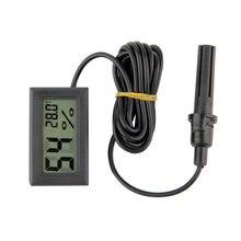 Профессиональный цифровой мини ЖК-дисплей термометр гигрометр Влажность Температура метр Крытый цифровой ЖК-дисплей Дисплей Сенсор