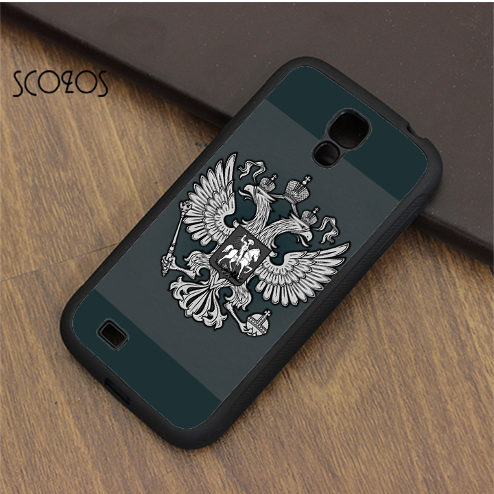 SCOZOS Eagle Logo of Russian Federation Russian Flag Rider case for samsung galaxy S3 S4 S5 S6 S7 S8 S6 edge S7 edge note 3 4 5
