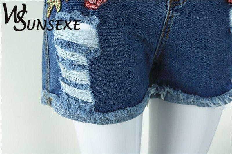 HTB1Jst8RpXXXXbWXpXXq6xXFXXXl - High Waist Shorts Denim Jeans Embroidery PTC 265