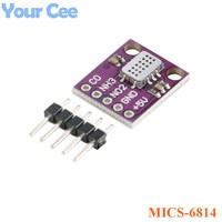 MICS 6814 Air Quality CO NO2 NH3 Nitrogen Carbon Gas Sensor Module For Arduino