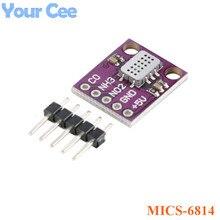 MICS 6814 Chất Lượng Không Khí CO NO2 NH3 Nitơ Carbon Gas Sensor Module Cho Arduino