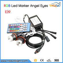 Free Shipping!!! RGB Color Change Cree Chips LED Angel Eyes LED Marker For BMW E39/E87/E63/E64/E53/E65/E66/E60/E61