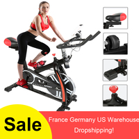 2018 Hot Sale Indoor Cycling Bike 8KG Flywheel 120Kg Bearing Indoor Spinning Bike LED Display