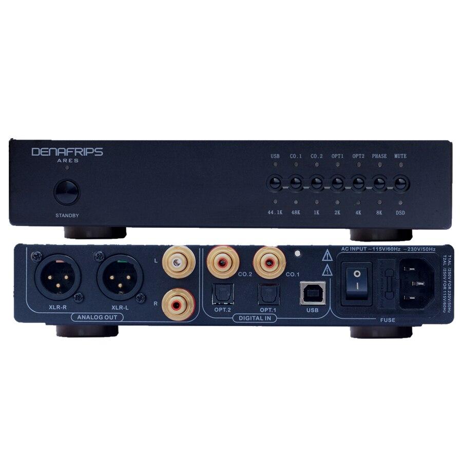 R-013 ARES 24Bit/384 k Resistenza R2R Equilibrata DSD DAC Decoder Supporto DSD256 Suono Codice Utilizzare A basso jitter digitale Circuito Integrato di Voce