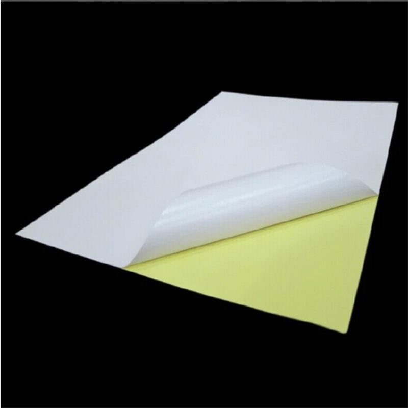 80 Sheets A4 Glossy White Sticker Paper Label Printing