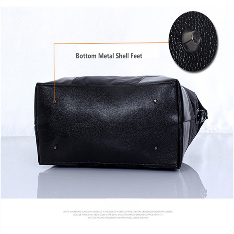 Business Trip Folding Waterproof Oxford Cloth Bag Mens Luggage Bag Leisure Style Super Large Capacity Travel Storage Handbag