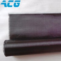 Carbon Fiber Fabric Cloth 1K 100GSM Plain Weave Super Light For Airplane Models 1m X1m