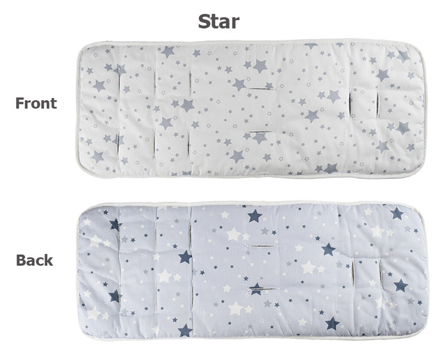 Baby Car Seat Pad pram Mattress Kids Seat Protection Accessory Liner 5 points Harness Pushchair Mat Stroller Support cushion 3