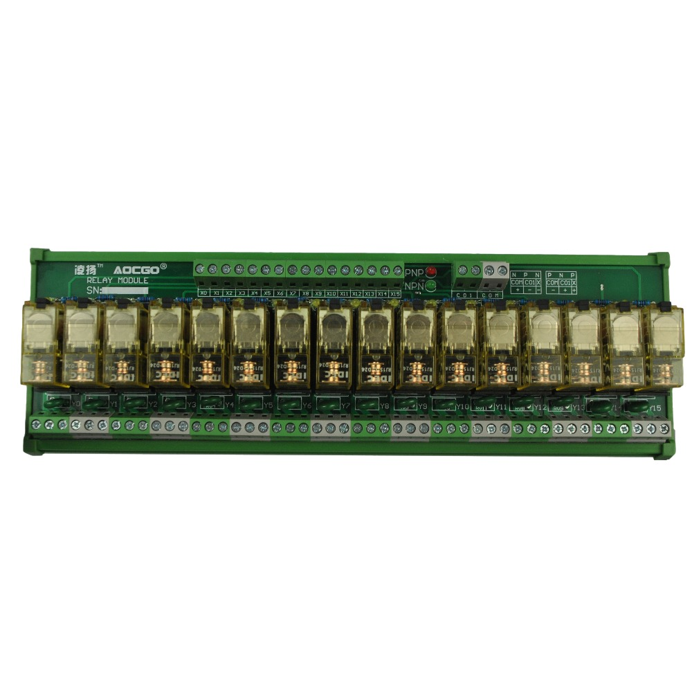 16 Channel 1 Spdt Din Rail Mount Idec Rj1s Interface Relay Module In Solid State 5v Relays From Home Improvement On Alibaba Group