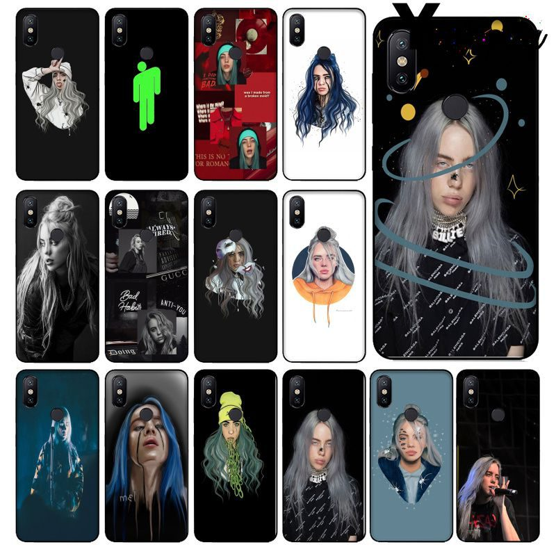 Yinuoda Billie eilish rainbow blohsh Ocean Eyes Phone <font><b>Case</b></font> for Xiaomi <font><b>Mi</b></font> 6 Note3 8 <font><b>8SE</b></font> Redmi 5 5Plus Note4 4X Note5 Cellphones image