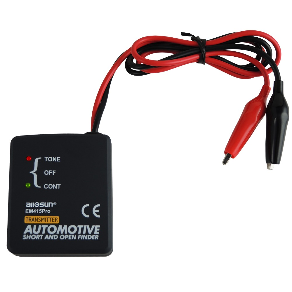 Automotive Cable Wire Tracker Short & Open Circuit Finder Tester Car ...