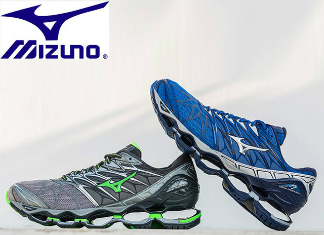 finest selection db26d b63b6 US $30.61 10% OFF|New Style Mizuno Wave Prophecy 7 Professional Men Shoes 6  Color Running Shoes For Men Weight Lifting Size 40 45 Stable Sports-in ...