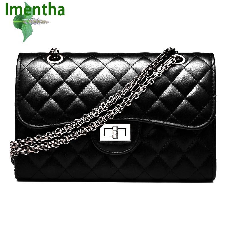 2017 black women shoulder bags female party crossbody chain bag plaid handbag quilted sac a main femme women leather handbags 2017 new vintage black women shoulder bags chain bag plaid trunk women handbag sac a main femme de marque nouvelle collection