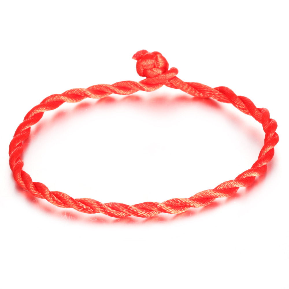 Fashion Chinese Elements Red Rope Bracelets Personalized Red String ...