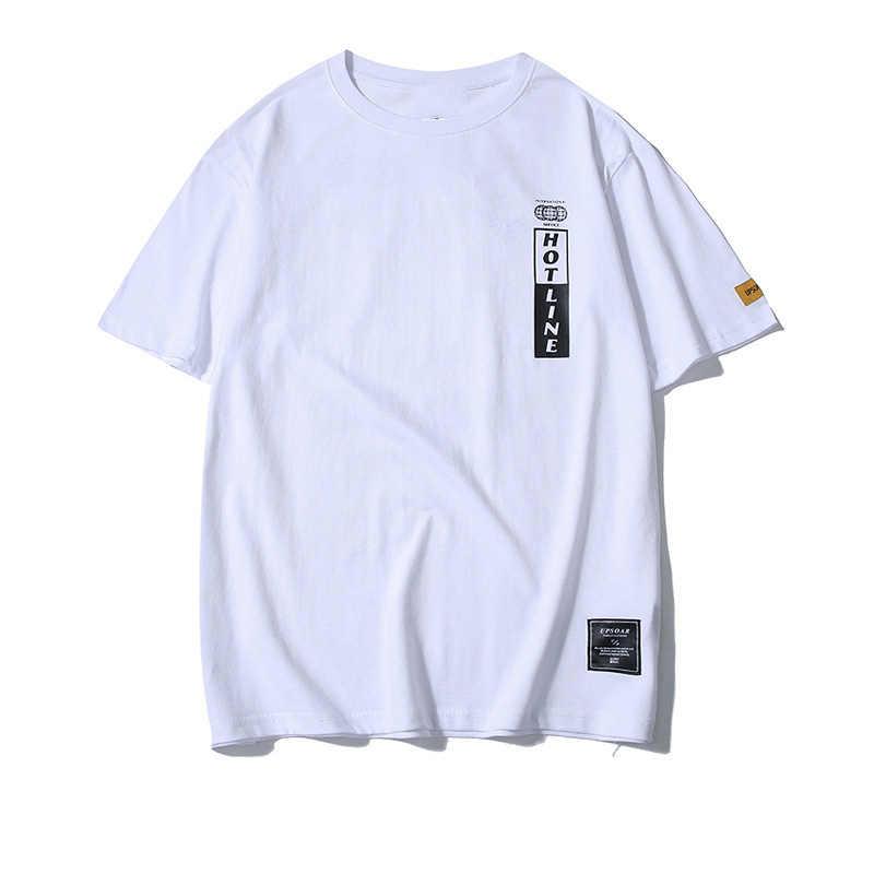 FGKKS Uomini T Camicette 2020 di Estate di Alta Qualità degli uomini di Stile di Skateboard T-Shirt Casual di Sesso Maschile di Cotone Cinese di Stampa della lettera Tee
