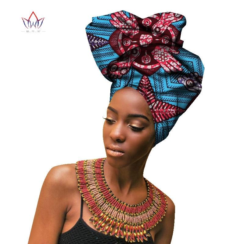 2018 Moda Africana, muestras de lazo para las mujeres de la bufanda de la cabeza para dama alta calidad de algodón de las mujeres, muestras de lazo de accesorios WYB141