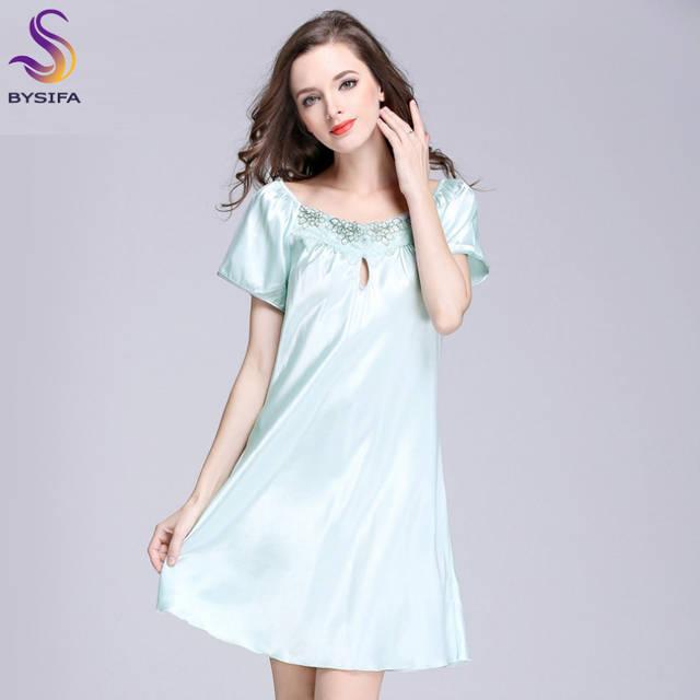 a7b8250c8 2017 Nova Doce Jovem Mulheres Camisola de Seda Impresso Moda Na Altura Do  Joelho-comprimento