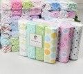 4 unids/pack 100% algodón súper suave franela manta de Bebé, bebé recepción de manta Sábana, swadding para lactantes, sábana de algodón para el bebé