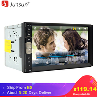 Junsun 7 Inch 2 Din Car DVD Radio Player GPS Universal Bluetooth Double Din Car Stereo