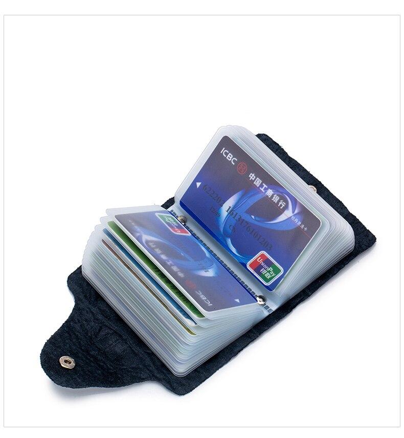 Lomelobo Split Leather Card Holders Men & Women Alligator Pattern Passport bag Credit ID Cards Holder 26 card slots Cards Wallet 2019 HCL400 Details (06)