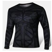 2016 marvel comics superhero captain America spider-man superman batman iron man long sleeve T-shirt clothing