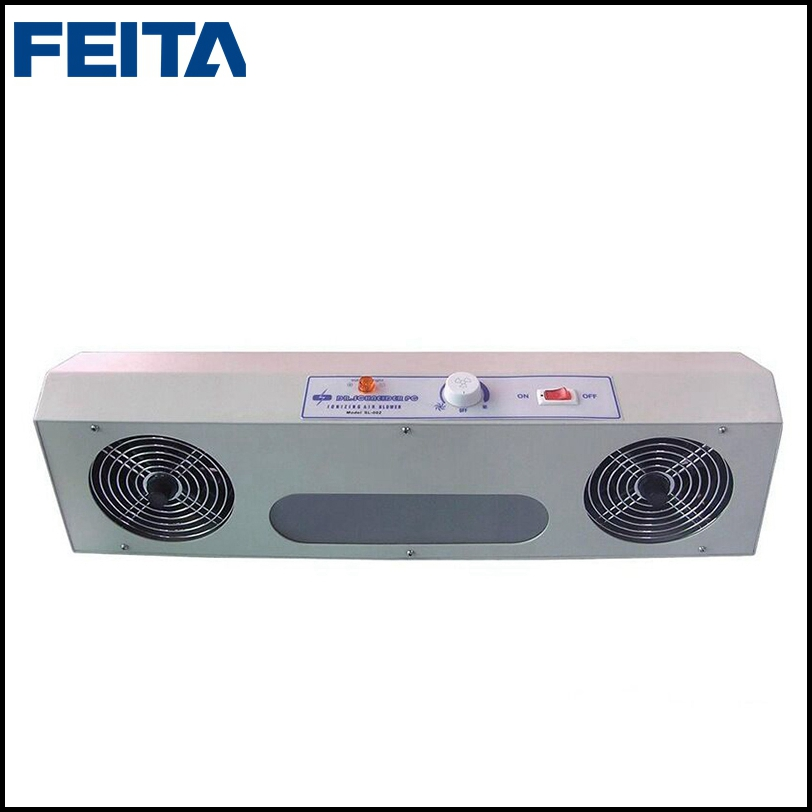 FEITA SL-002 220V/110V Overhead Anti-static Ionizer Blower ESD Ionizing Air Blower Fan with Two Air Outlets sl 001 pc esd ionizer fan esd ionizing air blower