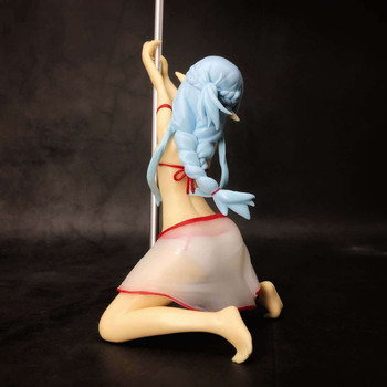 Аниме фигурка Асуна с шестом Мастер меча онлайн 19,5 см 1