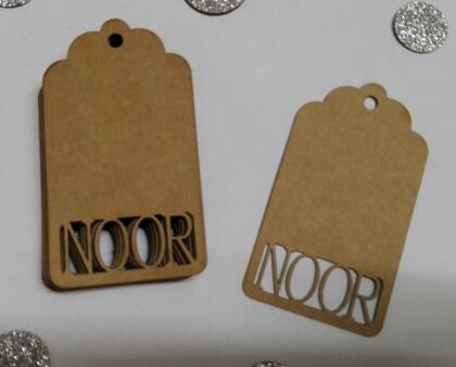 Custom Name Color Favor Gift Tags Wedding Favour Wishing Tree Tag