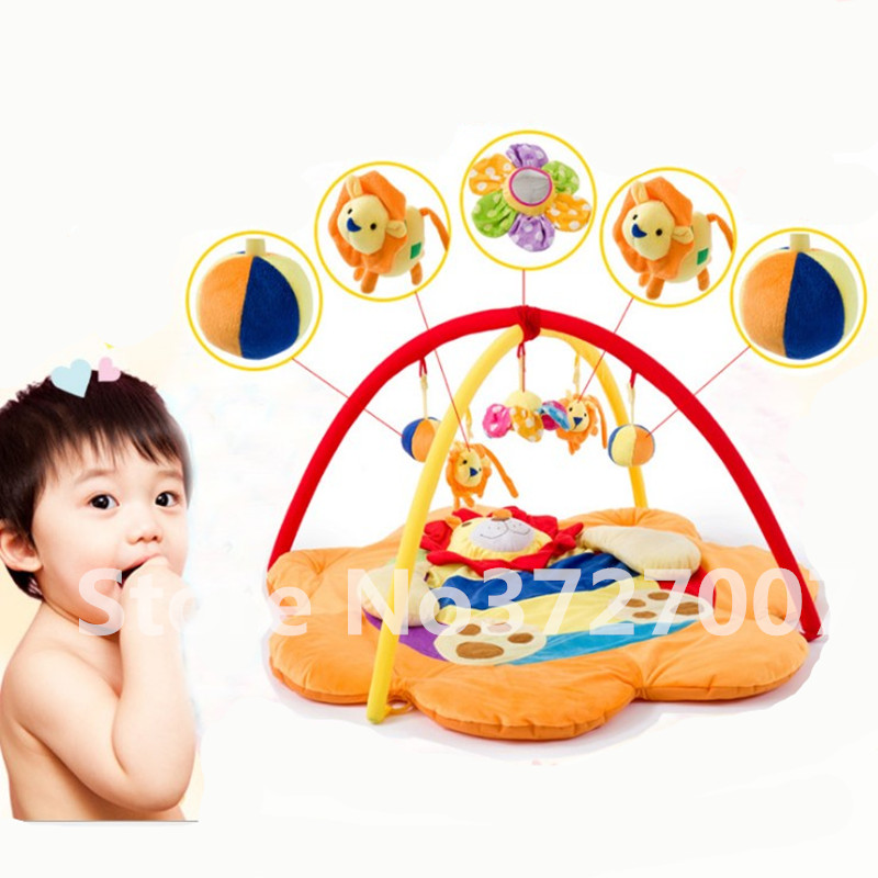 Musical Baby Play Mat Floor Game Pad Infant Educational Crawling Mat Play Gym Kids Blanket Carpet Toddler Baby Toys 0-12 Months cartoon soft baby play mat game mat kids infant rug floor pad educational hanging toy carpet infant playmat crawling blanket