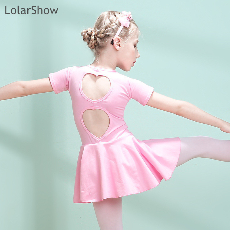 LolarShow Wholesale Dance Favourite Girls Ballet Dance Costumes Cotton Dress,Dancing Stage Costume