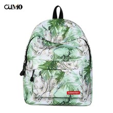 Ou Mo brand Animal rhino backpack Women school Bag waterproof teenagers man computer feminina Backpack schoolbag laptop