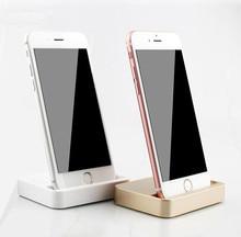 Original  Sync Data Charging Dock Station Desktop Docking Charger USB Cable Dock For iPhone 5 5S SE 6 7 6s Plus 7Plus Samsung