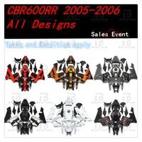 CBR600RR INJECTION Fairings Body Work Kit For Honda CBR600RR CBR 600RR CBR600 RR 2005 2006 ABS +3 Gift