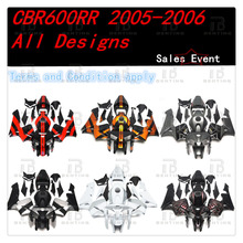 CBR600RR INJECTION Fairings Body Work Kit For Honda CBR600RR CBR 600RR CBR600 RR 2005-2006 ABS +3 Gift  стоимость