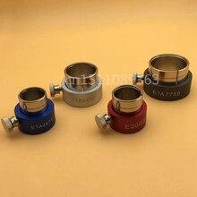 Hohe Qualität 4 teile/los Reversible Uhr Bewegung Halter Für ETA7750 2836 2671 E2000 Uhr Reparatur Werkzeug