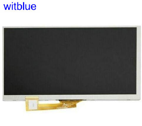 Witblue New LCD Display Matrix For 7 OYSTERS T72hms 3G Tablet 1024x600 Screen Panel Module Glass Replacement Free Shipping