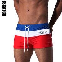 Escatch Hot Swimwear Men Breathable Men S Swimsuits Swim Trunks Boxer Briefs Sunga Swim Suits Maillot