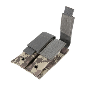 Image 5 - 新外気銃カバーコンバットミリタリーハンティングバッグ 600D ナイロン Molle 2 のハンドガンバッグクローズドレザーケース実用的な