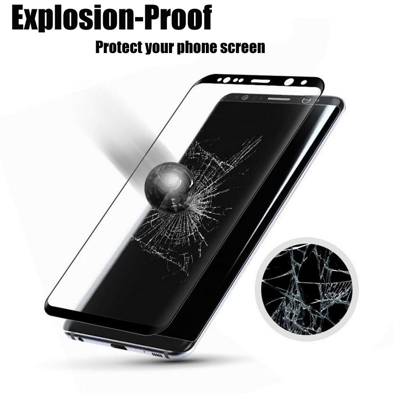 Full Cover Tempered Glass For Samsung Galaxy S8 Plus S7 S6 A3 A5 A7 2017 J5 J7 2016 Screen Protector Back Phone Case Guard Film