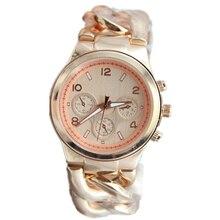 Fashiond дизайнерские Новые Золотые Часы высокое качество ТАДА Бренд Metal cow boy цепи Женские Часы Горячие продаж мужская wristquartz часы