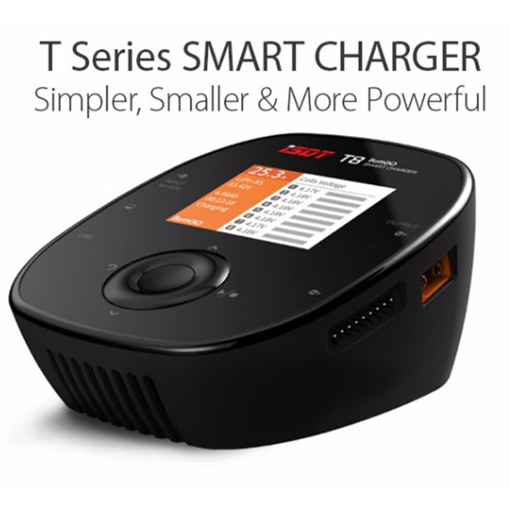 ISDT T6 Lite 600W 25A Intelligent Smart Battery Balance Charger Discharger for 2S-6S Lipo Battery for RC Drone Model Toys HobbyISDT T6 Lite 600W 25A Intelligent Smart Battery Balance Charger Discharger for 2S-6S Lipo Battery for RC Drone Model Toys Hobby